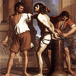 Guercino (Giovanni Francesco Barbieri) - The Flagellation of Christ