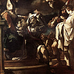 Guercino (Giovanni Francesco Barbieri) - St William of Aquitaine Receiving the Cowl