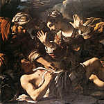 Guercino (Giovanni Francesco Barbieri) - Ermina Finds the Wounded Tancred