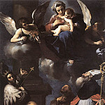 Guercino (Giovanni Francesco Barbieri) - A Donor Presented to the Virgin