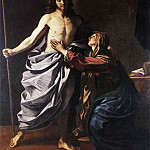 Guercino (Giovanni Francesco Barbieri) - The Resurrected Christ Appears to the Virgin