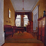 Eduard Bendemann - Berlin Interior