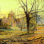 Evening,-Knostrop-Old-Hall, H Tom Hall