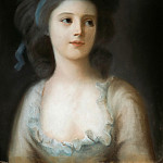 Johann August Nahl the Younger - Countess Sophie de Witt