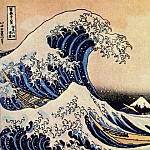Hokusai - great wave off kanagawa early-1830s
