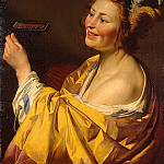 Gerard van Honthorst - The lute player, 1624, 84x66.5 cm