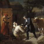 David von Krafft - Fénélon returns a Stolen Cow to a Peasant