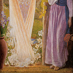 Arthur Hughes - The Annunciation
