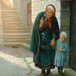 Arthur Hughes - Old Neighbor Gone Bye
