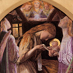 Arthur Hughes - The Nativity