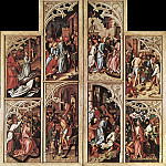 Hans The Elder Holbein - Wings Of The Kaisheim Altarpiece