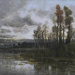 Autumn Landscape near Pavia