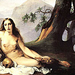Francesco Hayez - The Penitent Magdalene