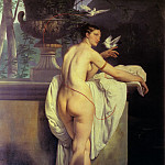 Francesco Hayez - Venus Playing With Two Doves