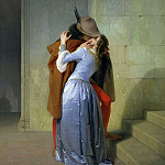 Horace Vernet - The Kiss