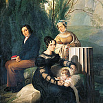 Amico Aspertini - Portrait of the family Stampa di Soncino