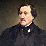Francesco Hayez - Сomposer Gioachino Rossini