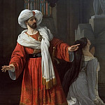 Francesco Hayez - The Arabs in Gaul