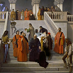 Francesco Hayez - The Last Moments of Doge Marin Faliero