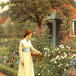 Leighton_Edmund_Blair_Summer_Roses, Edmund Blair Leighton