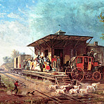 JLM-1864-Edward Henry-Morris and Essex Railroad Station, Henry Potthast Edward