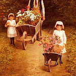 Hayllar_Mary_Helping_Gardener, Мэри Хейллар