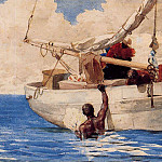 Winslow Homer - The Coral Divers
