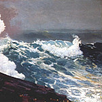 Winslow Homer - northeaster 1895