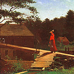 Winslow Homer - The Morning Bell, 1872, oil on canvas, Yale University