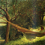 Winslow Homer - Girl in a Hammock