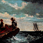 Winslow Homer - zFox SWD WH 17 Breezing Up 1876