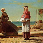 Winslow Homer - Dad-s Coming!