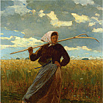 Winslow Homer - The Return of the Gleaner