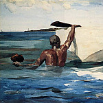 Winslow Homer - The Sponge Diver