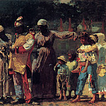 Winslow Homer - The Carnival aka Dressing for the Carnival