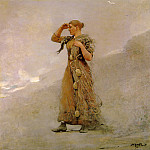 Winslow Homer - The-Fisher-Girl