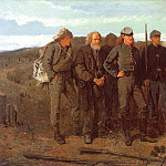 Winslow Homer - Prisoners from the Front, 1866, oil on canvas, Metropo