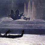 Winslow Homer - The Fountains at Night World-s Columbian Exposition