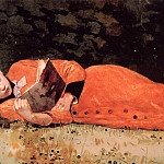 Winslow Homer - The New Novel aka Book