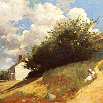 Winslow Homer - Houses on a Hill