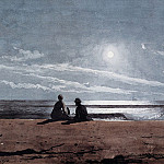 Winslow Homer - zFox SWD WH 14 Moonlight 1874