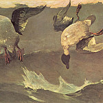 Winslow Homer - The Double(1909) Po Amp 042