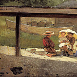 Winslow Homer - In Charge of Baby