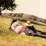 Winslow Homer - On the Hill
