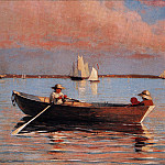 Winslow Homer - zFox SWD WH 13 Gloucester Harbor 1873