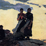 Winslow Homer - Early Evening aka Sailors Take Warning