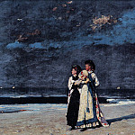 Winslow Homer - zFox SWD WH 18 Promenade On The Beach 1880