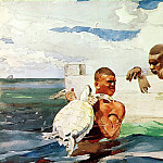 Winslow Homer - The Turtle Pond