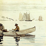 Winslow Homer - Boys Fishing Gloucester Harbor