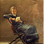 Winslow Homer - Girl Seated